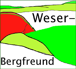 Weser-Bergfreund (Pin)